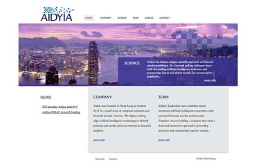Aidyia - Homepage