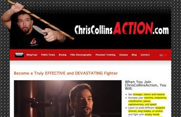 Chriscollinsaction.com - Homepage