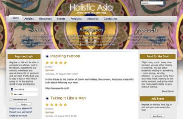 Holisticasia.com - Homepage